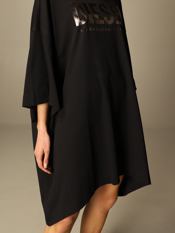 Kleid Diesel: Kleid damen Diesel schwarz 4