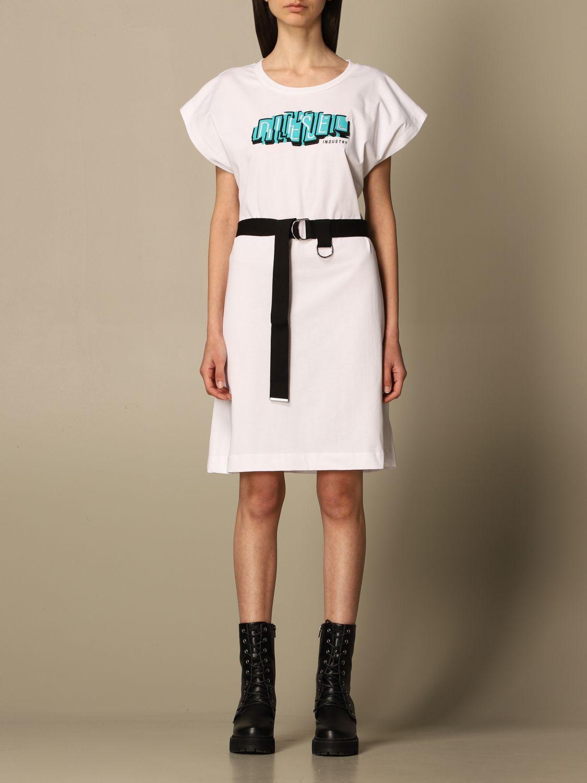 Kleid Diesel: Kleid damen Diesel weiß 1