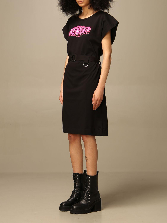 Kleid Diesel: Kleid damen Diesel schwarz 3