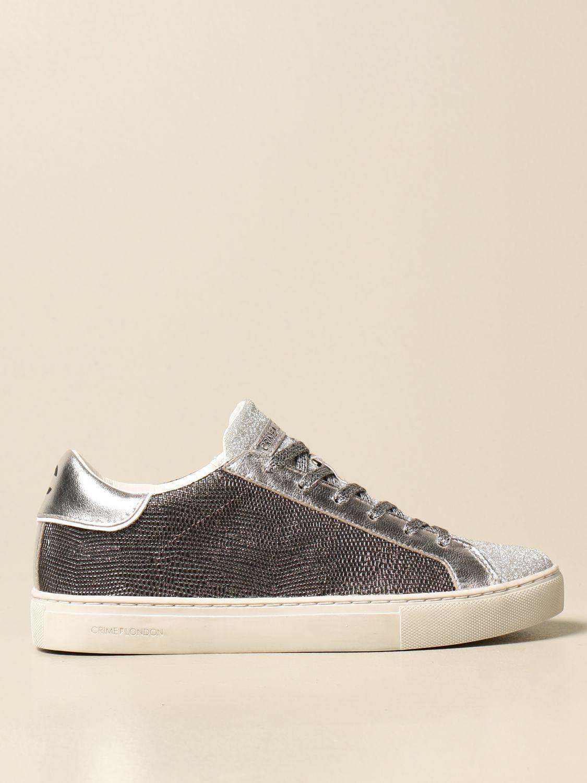 Sneakers Crime London: Schuhe damen Crime London silber 1