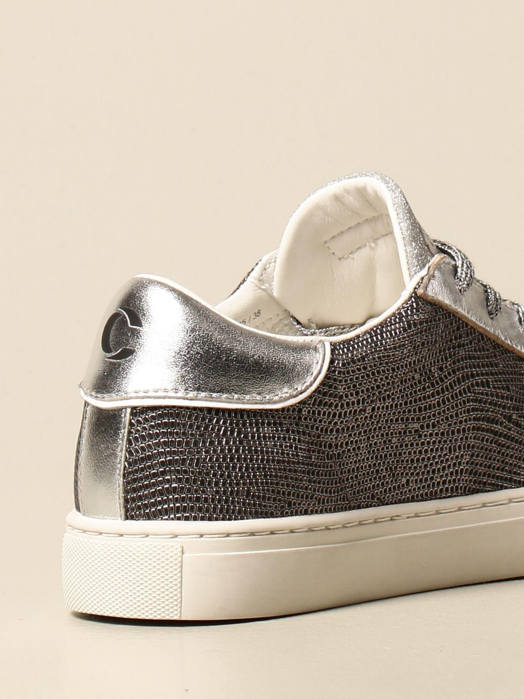Sneakers Crime London: Schuhe damen Crime London silber 3