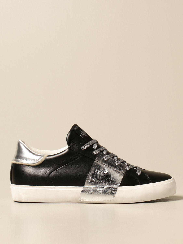 Sneakers Crime London: Schuhe damen Crime London schwarz 1