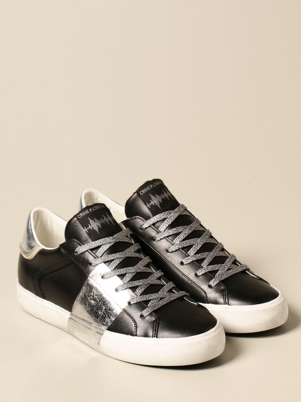Sneakers Crime London: Schuhe damen Crime London schwarz 2