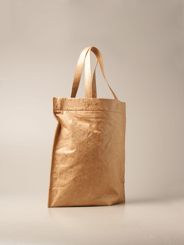 Bags Balenciaga: Balenciaga shopper bag in sustainable paper fabric sand 2