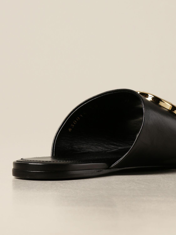 Босоножки без каблука Balenciaga: Обувь Женское Balenciaga черный 3