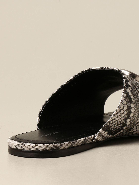 Босоножки без каблука Balenciaga: Обувь Женское Balenciaga бежевый 3