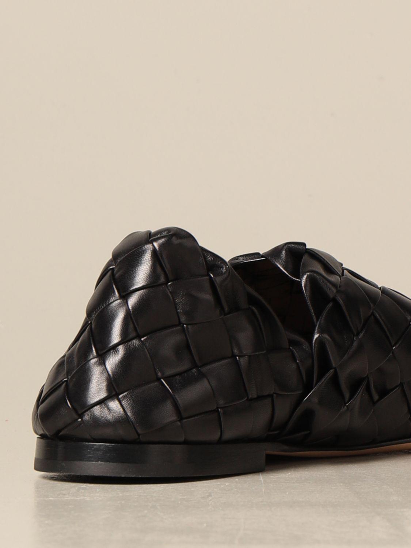 Shoes Bottega Veneta: Bottega Veneta slipper in woven lamb nappa black 3