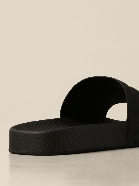 Sandals Bottega Veneta: Bottega Veneta BV Slider rubber sandal black 3