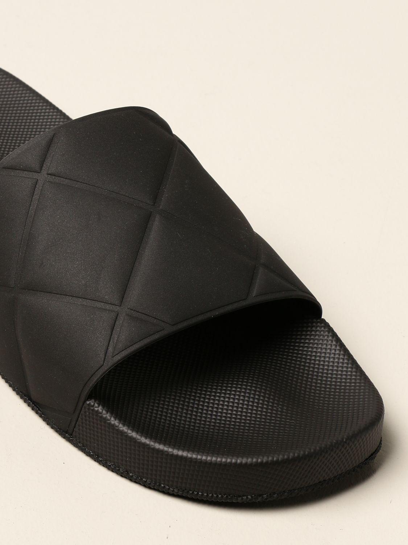Sandals Bottega Veneta: Bottega Veneta BV Slider rubber sandal black 4