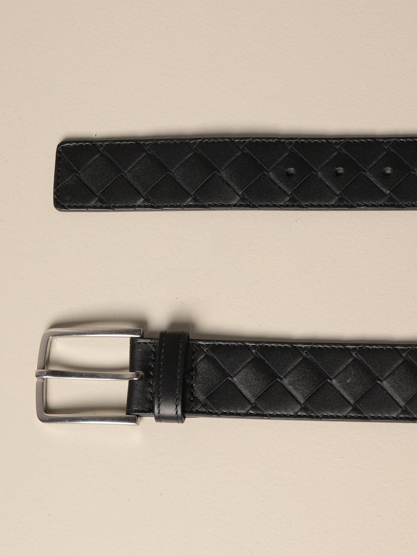 Cintura Bottega Veneta: Cintura Bottega Veneta in pelle intrecciata 1.5 nero 2