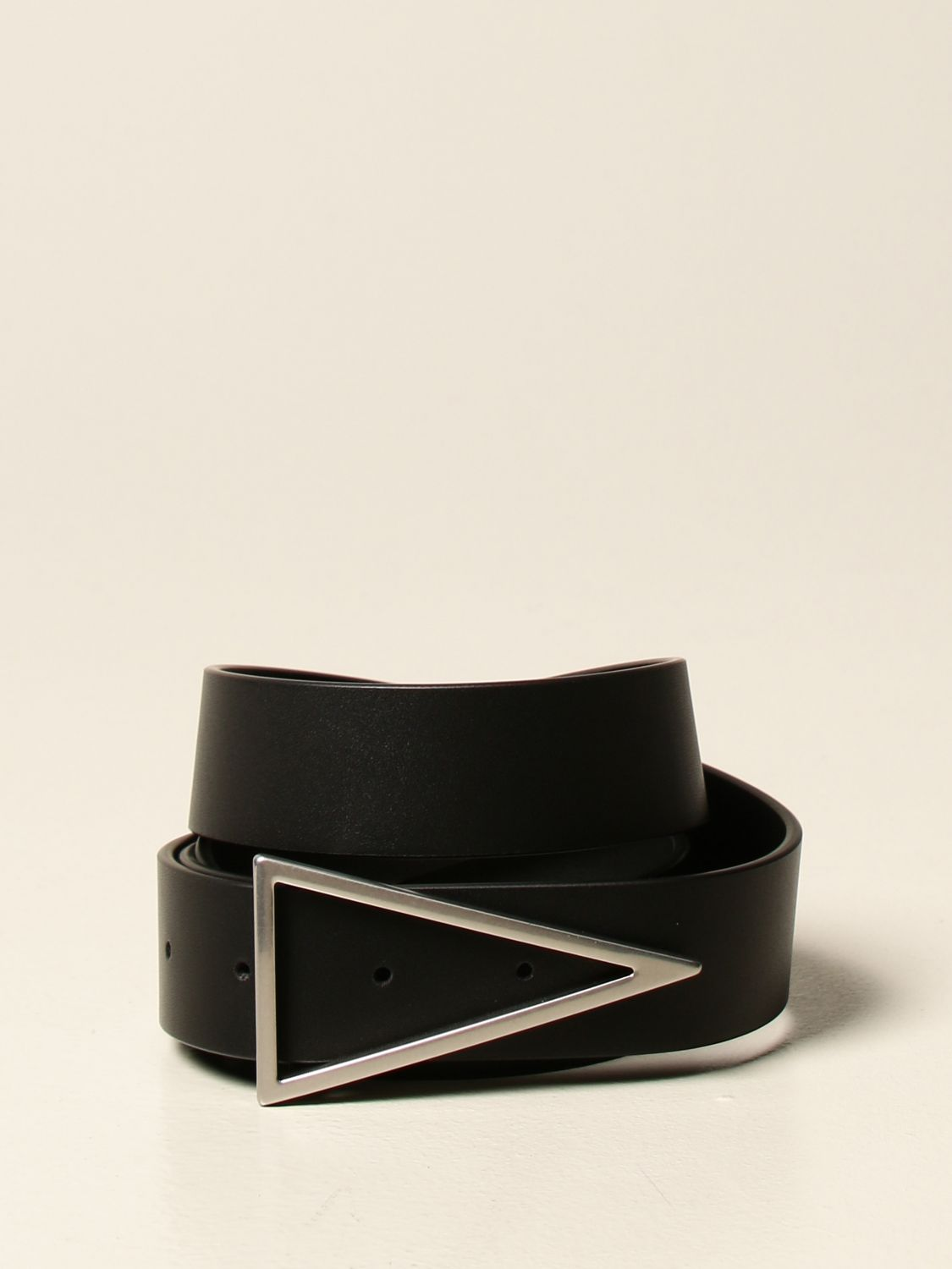 Belt Bottega Veneta: Bottega Veneta leather belt black 1