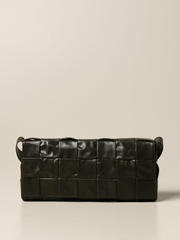 Belt bag Bottega Veneta: The Stretch Cassette Bottega Veneta bag in calfskin military 1