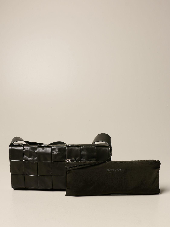 Belt bag Bottega Veneta: The Stretch Cassette Bottega Veneta bag in calfskin military 4