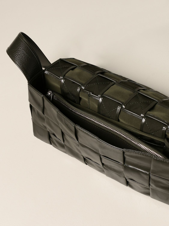 Belt bag Bottega Veneta: The Stretch Cassette Bottega Veneta bag in calfskin military 5