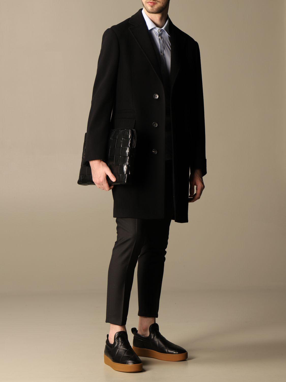 Briefcase Bottega Veneta: Bottega Veneta clutch bag in 4.0 woven leather black 2