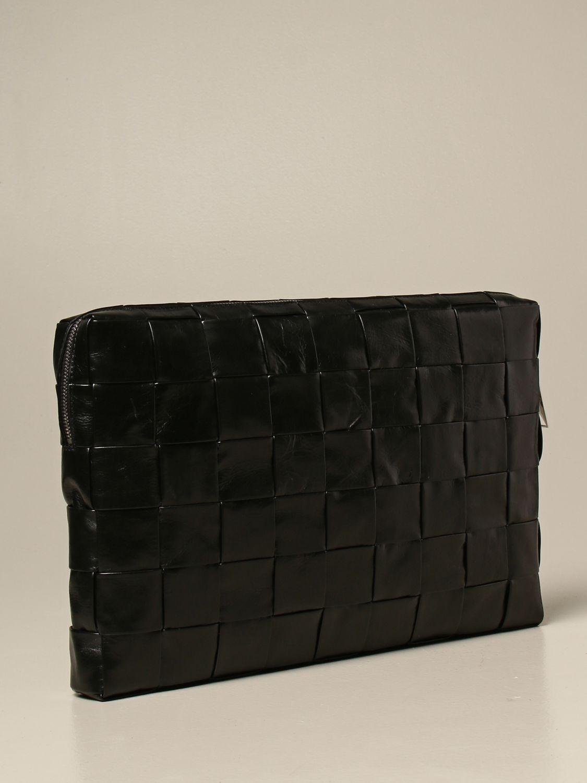 Briefcase Bottega Veneta: Bottega Veneta clutch bag in 4.0 woven leather black 3
