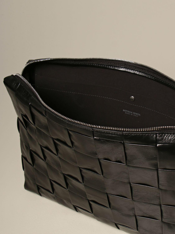 Briefcase Bottega Veneta: Bottega Veneta clutch bag in 4.0 woven leather black 5
