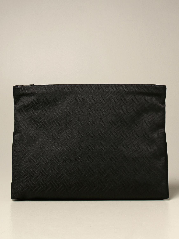 Portadocumenti Bottega Veneta: Beauty case Bottega Veneta in nylon nero 1