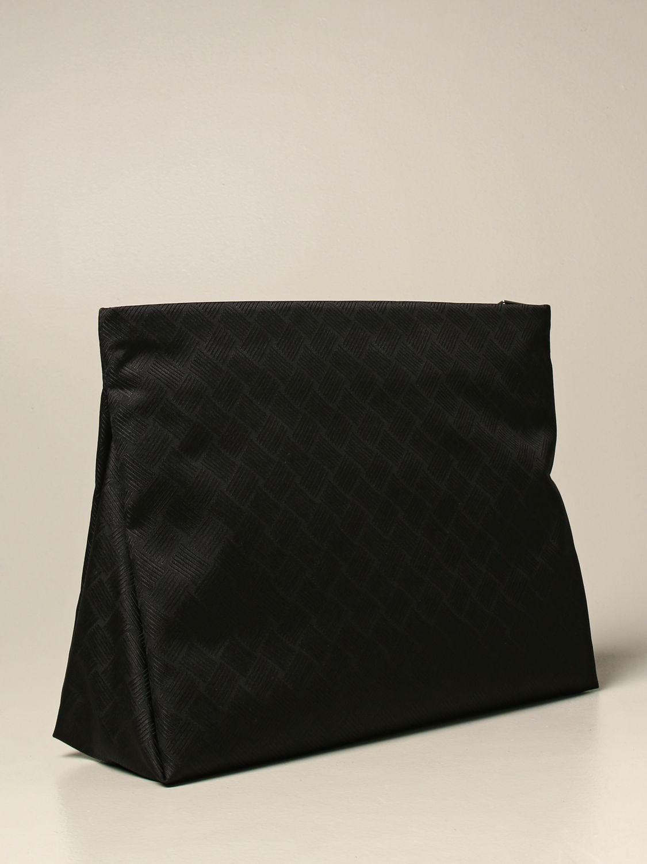 Portadocumenti Bottega Veneta: Beauty case Bottega Veneta in nylon nero 2