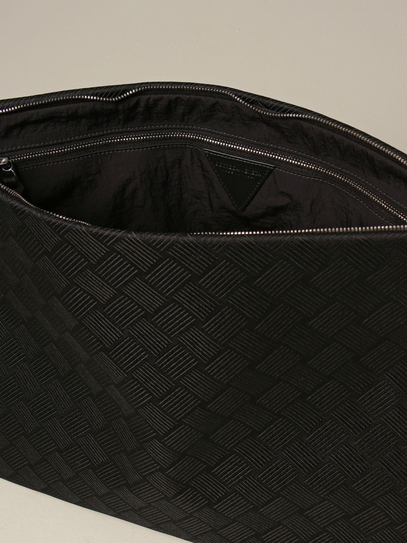 Portadocumenti Bottega Veneta: Beauty case Bottega Veneta in nylon nero 4