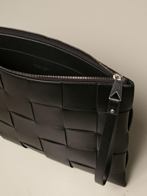 Briefcase Bottega Veneta: Bottega Veneta clutch bag in woven leather black 5