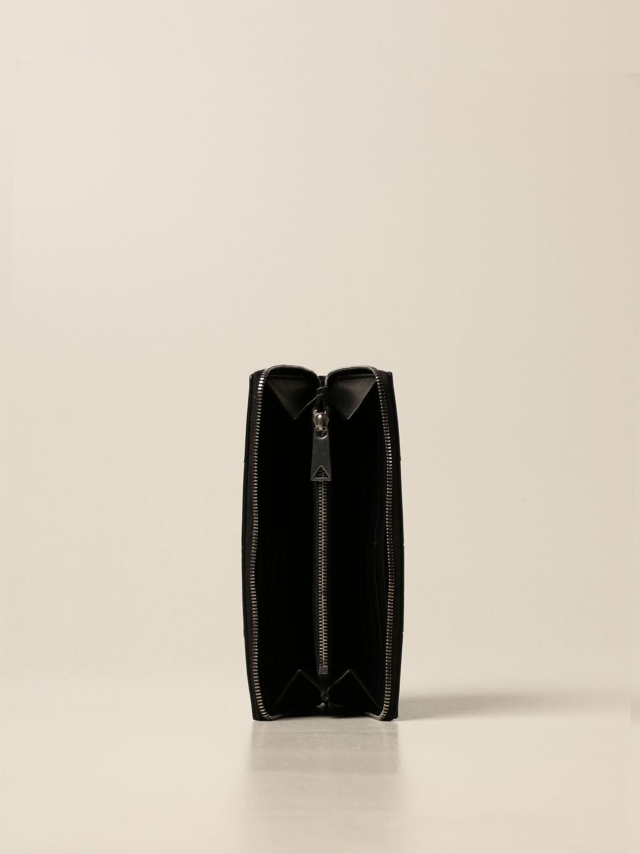 Wallet Bottega Veneta: Bottega Veneta wallet in woven leather 4.5 black 2
