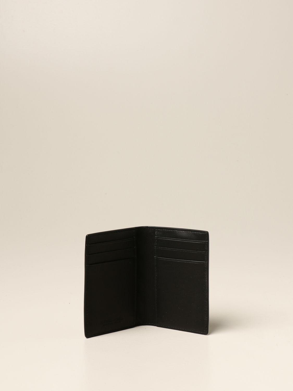 Wallet Bottega Veneta: Bottega Veneta wallet in woven leather 1.5 black 2