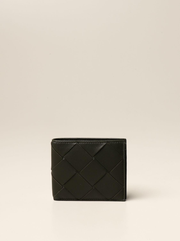 Wallet Bottega Veneta: Bottega Veneta wallet in 3.0 woven nappa military 1