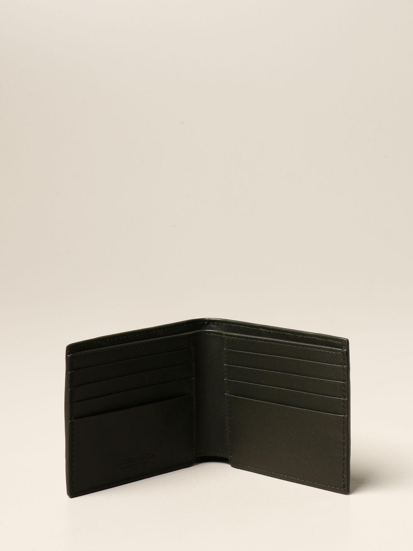 Wallet Bottega Veneta: Bottega Veneta wallet in 3.0 woven nappa military 2