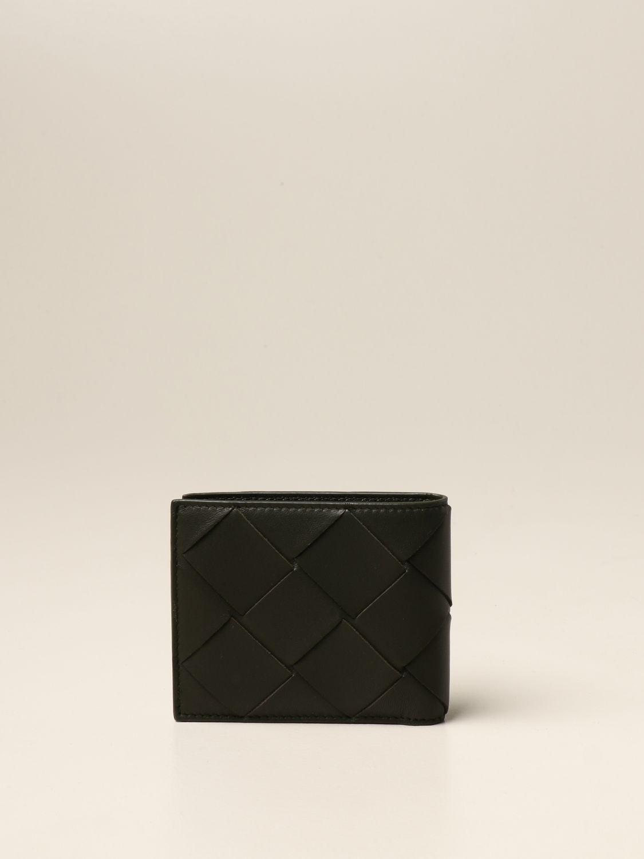 Wallet Bottega Veneta: Bottega Veneta wallet in 3.0 woven nappa military 3