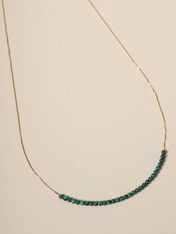Gioielli Bottega Veneta: Collana Bottega Veneta con piccole sfere verde 2