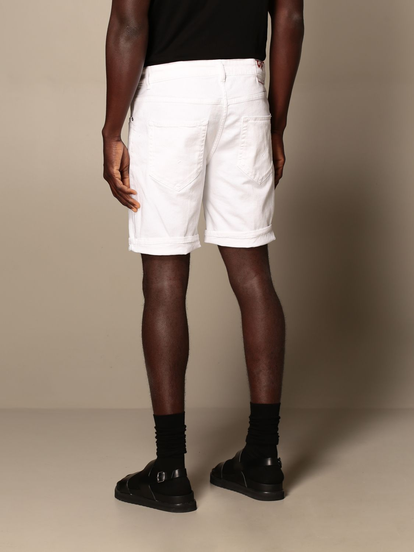 Pantalones cortos Dondup: Pantalones cortos hombre Dondup blanco 2