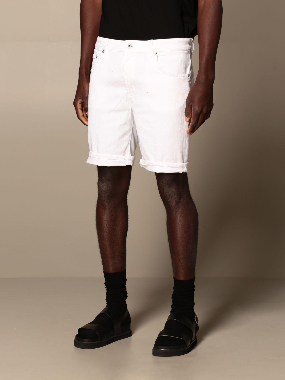 Pantalones cortos Dondup: Pantalones cortos hombre Dondup blanco 3