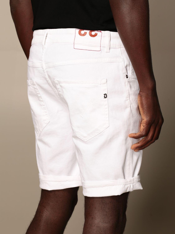 Pantalones cortos Dondup: Pantalones cortos hombre Dondup blanco 4