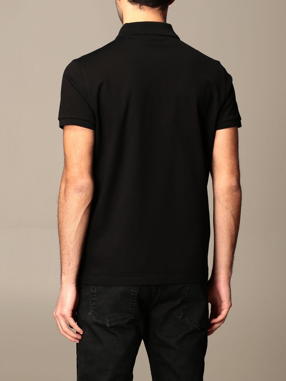 Polo Saint Laurent: Polo hombre Saint Laurent negro 3