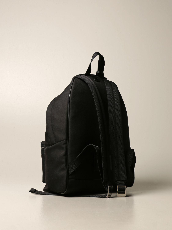 Backpack Saint Laurent: City Saint Laurent backpack in nylon canvas black 3