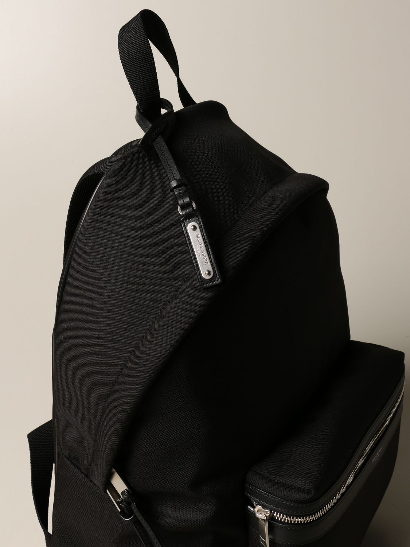 Backpack Saint Laurent: City Saint Laurent backpack in nylon canvas black 4