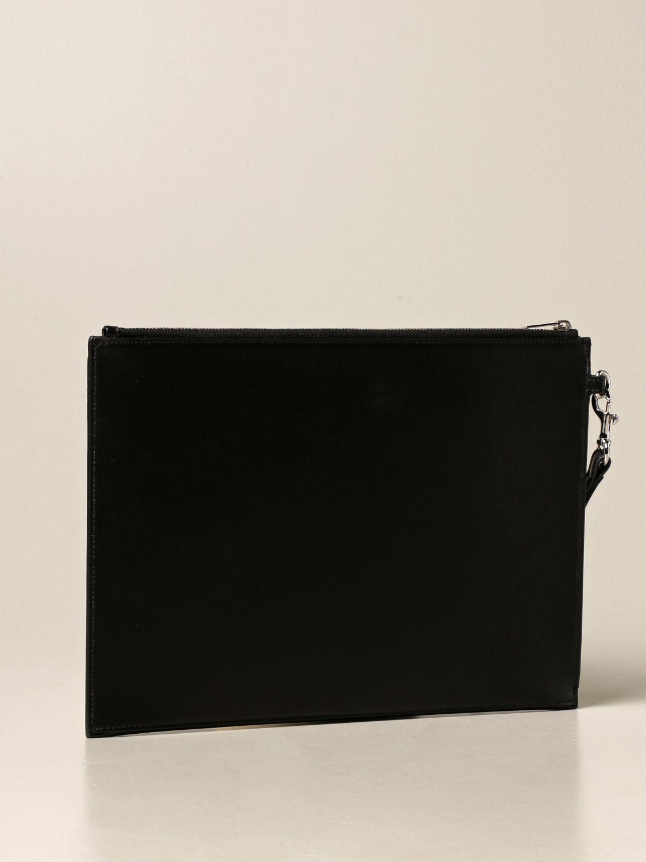 Portadocumenti Saint Laurent: Pochette Saint Laurent in pelle nero 3