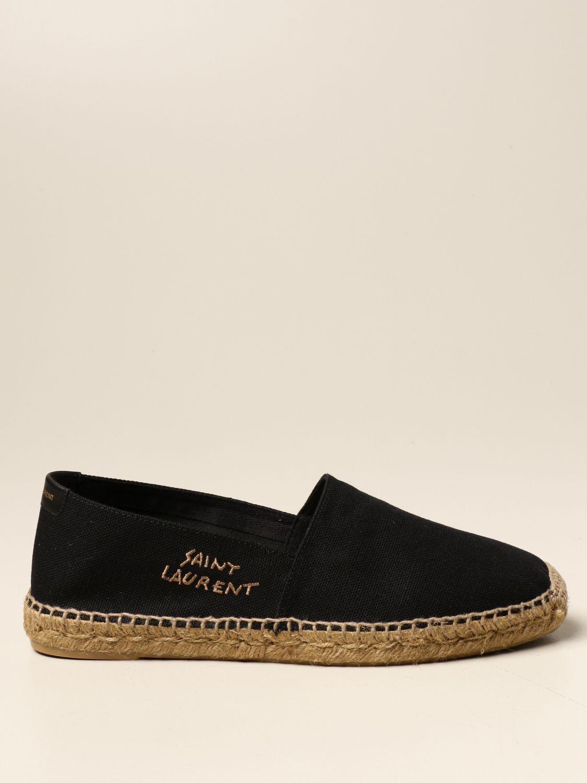 Alpargatas Saint Laurent: Zapatos hombre Saint Laurent negro 1