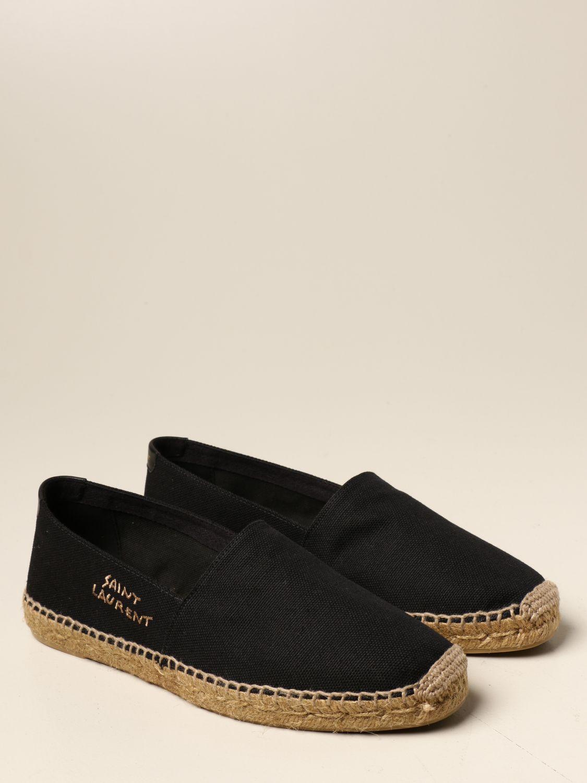 Alpargatas Saint Laurent: Zapatos hombre Saint Laurent negro 2