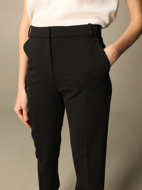 Pantalone Pinko: Pantalone Bello 100 Pinko in punto stoffa scuba nero 3