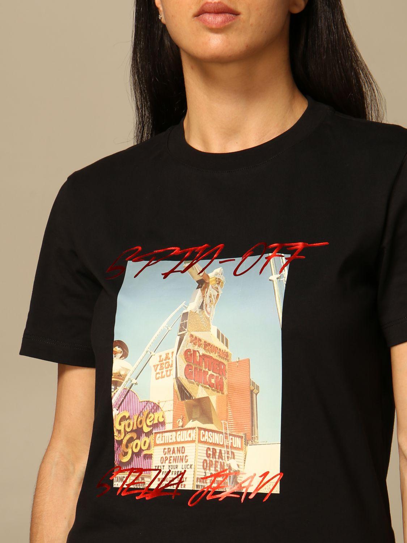 T-Shirt Stella Jean: T-shirt women Stella Jean black 3