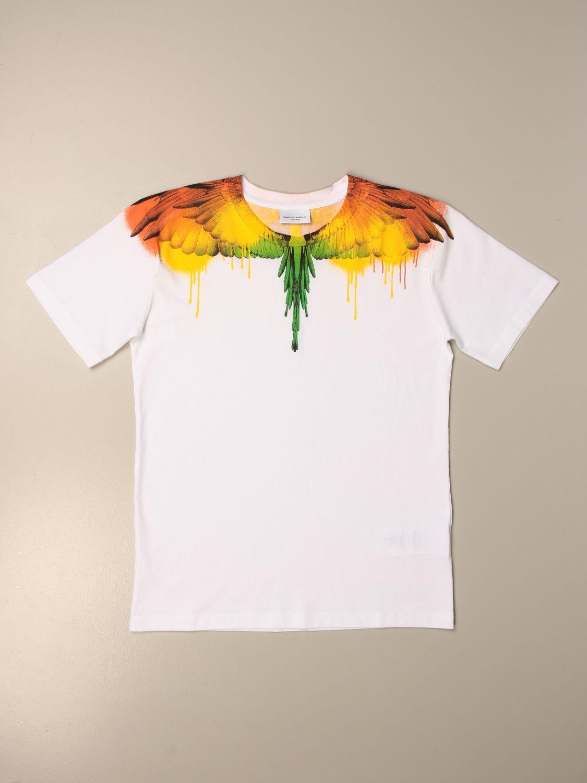 Camiseta Marcelo Burlon: Camiseta niños Marcelo Burlon blanco 1