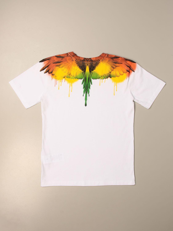 Camiseta Marcelo Burlon: Camiseta niños Marcelo Burlon blanco 2