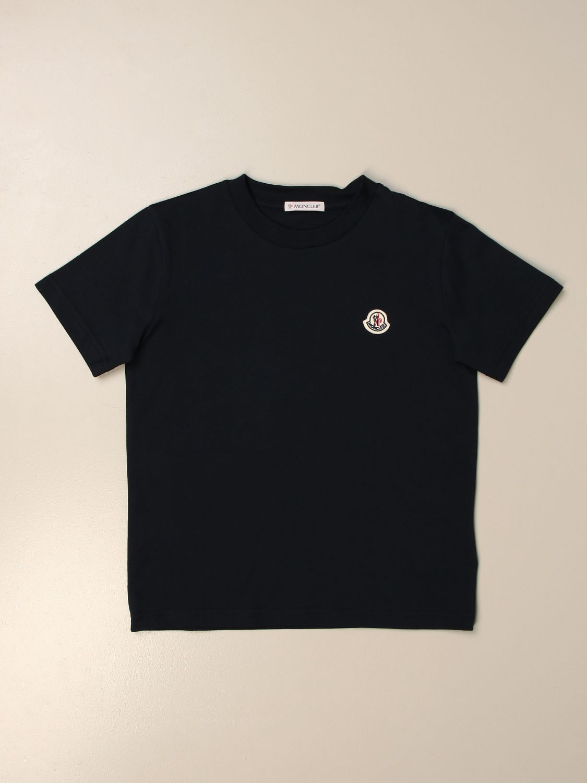 T-shirt Moncler: T-shirt kids Moncler blue 1