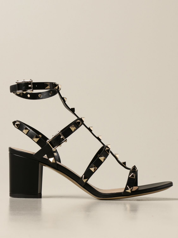 Heeled sandals Valentino Garavani: Shoes women Valentino Garavani black 1