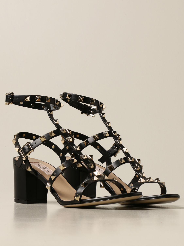 Heeled sandals Valentino Garavani: Shoes women Valentino Garavani black 2