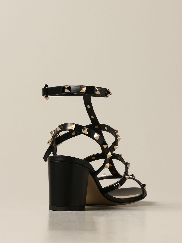Heeled sandals Valentino Garavani: Shoes women Valentino Garavani black 3