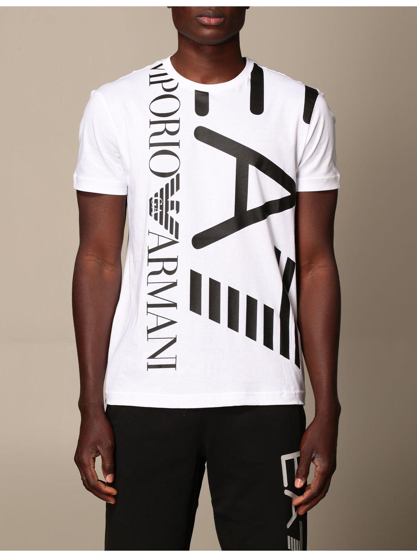 T-shirt Ea7: T-shirt men Ea7 white 1