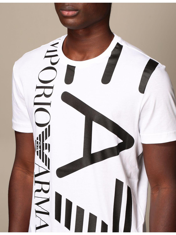 T-shirt Ea7: T-shirt men Ea7 white 4